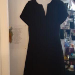 🌻🍭H&M black dress sz 8